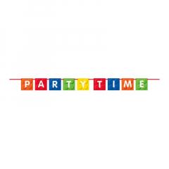 Γιρλάντα Party Time σε θέμα τουβλάκια