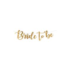 """Διακοσμητική Γιρλάντα """"Bride to Be"""""""