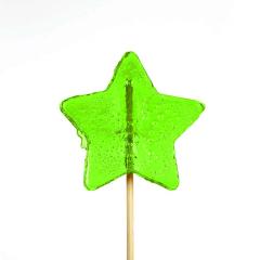 Γλειφιτζούρι με σχήμα αστέρι πράσινο 30gr