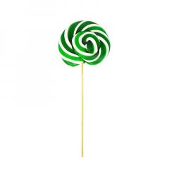 Γλειφιτζούρι πιρουλέτα πράσινο-λευκό καρπούζι 40gr