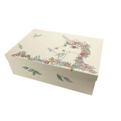 Κουτί βάπτισης χάρτινο με θέμα Μονόκερος