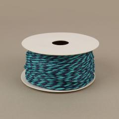Κορδόνι χάρτινο τιρκουάζ-μπλε 2mm 50μ