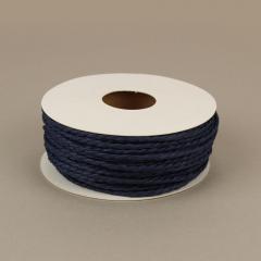Κορδόνι χάρτινο μπλε σκούρο 2mm 25μ