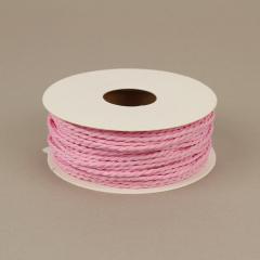 Κορδόνι χάρτινο ροζ 2mm 25μ
