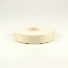 Κορδέλα γκρό cream white 25mm (λευκό κρέμας)