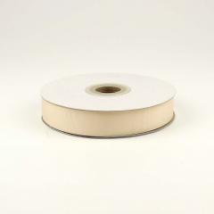 Κορδέλα γκρό εκρού 25mm
