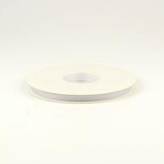 Κορδέλα γκρό λευκό 6mm