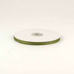 Κορδέλα γκρό πράσινο λαδί 5mm