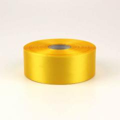 Κορδέλα σατέν μίας όψης 50mm κίτρινο