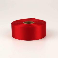 Κορδέλα σατέν μίας όψης 50mm κόκκινο