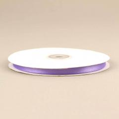 Κορδέλα σατέν διπλής όψης 6mm μοβ