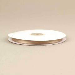 Κορδέλα σατέν διπλής όψης 6mm σοκολατί