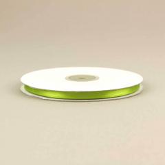 Κορδέλα σατέν διπλής όψης 6mm πράσινο ανοιχτό