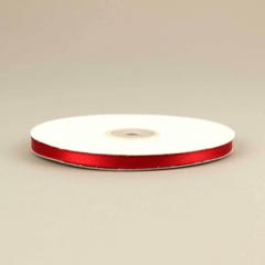 Κορδέλα σατέν διπλής όψης 6mm κόκκινο