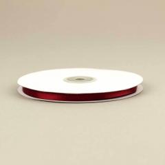 Κορδέλα σατέν διπλής όψης 6mm κόκκινο σκούρο (Μπουργκουντί)