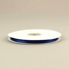 Κορδέλα σατέν διπλής όψης 6mm μπλε