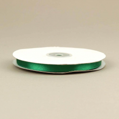 Κορδέλα σατέν διπλής όψης 10mm πράσινο