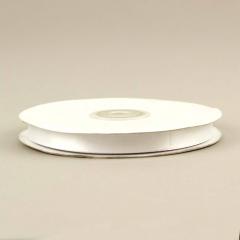 Κορδέλα σατέν διπλής όψης 10mm λευκό