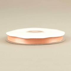 Κορδέλα σατέν διπλής όψης 10mm σομόν