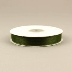 Κορδέλα οργάντζα με ούγια 15mm λαδί