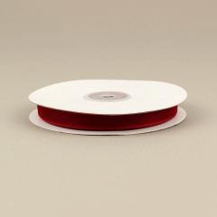 Κορδέλα οργάντζα με ούγια 10mm κόκκινη
