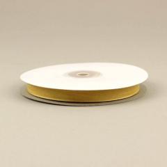 Κορδέλα οργάντζα με ούγια 10mm κίτρινη