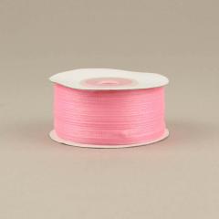 Κορδέλα οργάντζα 3mm ροζ