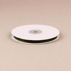 Κορδέλα οργάντζα με ούγια 6mm λαδί
