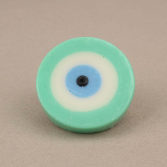 Χειροποίητο σαπουνάκι μάτι σε μιντ χρώμα