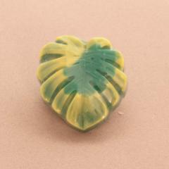 Χειροποίητο σαπουνάκι σε σχήμα τροπικό φύλλο