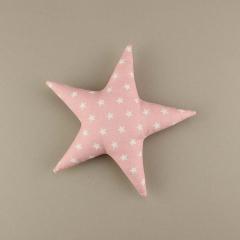 Διακοσμητικό μπομπονιέρας υφασμάτινο αστέρι