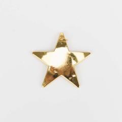 Μεταλλικό διακοσμητικό αστέρι 2τεμ
