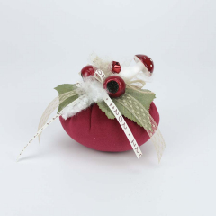 Χριστουγεννιάτικη κολοκύθα βελούδινη με γκι