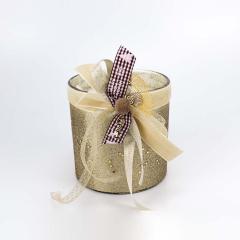 Αρωματικό κερί χώρου χρυσαφί με στρας