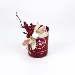 Αρωματικό κερί χώρου χριστουγεννιάτικο κόκκινο