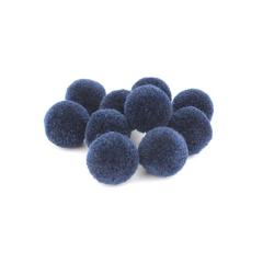 Πον Πον από κασμίρ μπλε σκούρο 20mm 10τεμ