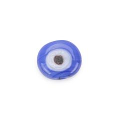 Μάτι γυάλινο σιέλ 15x17mm 5τεμ