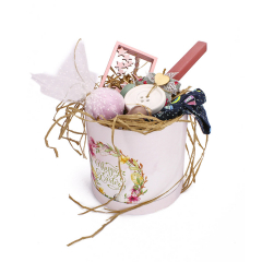 Πασχαλινό πακέτο δώρου Happy Easter ροζ
