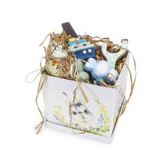 Πασχαλινό πακέτο δώρου κουνελάκι Happy Easter
