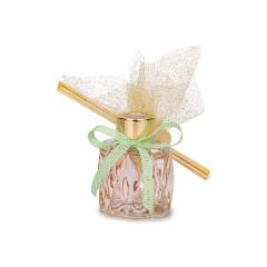 Μπομπονιέρα αρωματικό σκαλιστό μπουκαλάκι ροζ Soap Tales