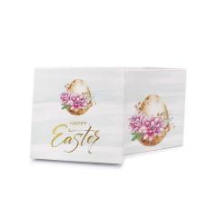 Πασχαλινό κουτί δώρου βεραμάν φλοράλ αυγό