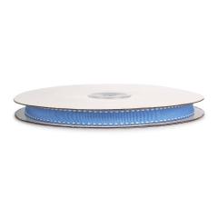 Κορδέλα γκρο διπλη ραφή γαλάζια 10mmX25m