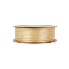 Κορδέλα σατέν μιας όψης χρυσή 3mmX100μ