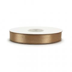 Κορδέλα σατέν χρυσή καφέ 15mmX45μ