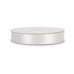 Σατέν κορδέλα διπλής όψης λευκή 20mm 50μ