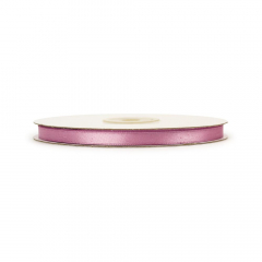 Κορδέλα σατέν ροζ αντικέ 6mmX45μ