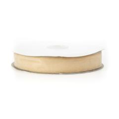 Κορδέλα βελούδινη εκρού 25mm
