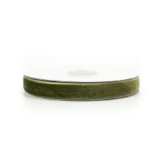 Κορδέλα βελούδινη λαδί 15mm