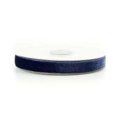 Κορδέλα βελούδινη μπλε 15mm