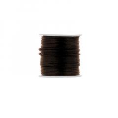 Κορδόνι φλος ποντικουρά καφέ 2mm/50m